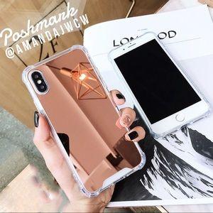 Accessories - ✨HOST PICK✨ Luxury Rose Gold Mirror iPhone Case